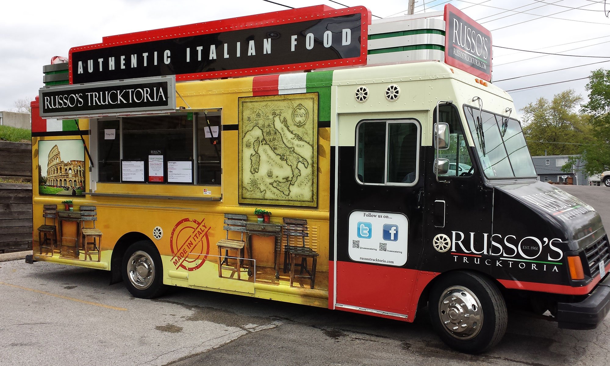 Russo S Catering Food Truck